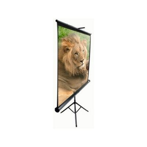 Elite T92UWH-BLACK Tripod Pull up Projection Screen