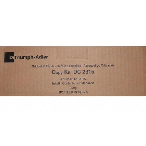 Triumph-Adler 611310010, Toner Cartridge Black, DC2315- Original