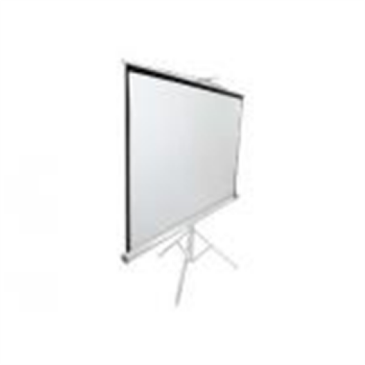Elite T71NWS1-WHITE Tripod Pull up Projection Screen