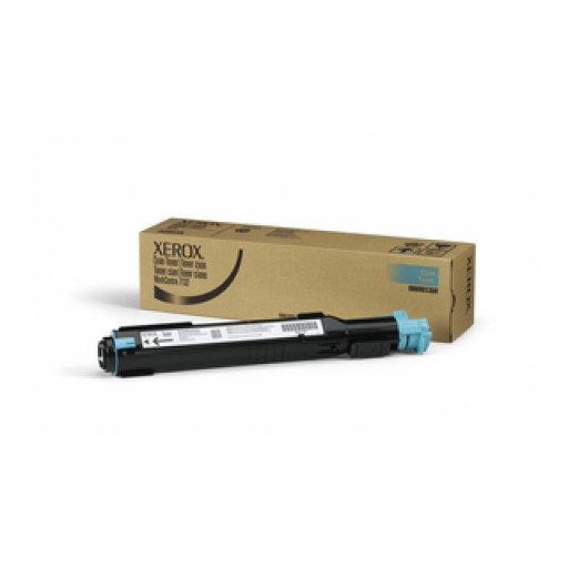 Xerox 006R01269 Toner Cartridge, WorkCentre 7132, 7232, 7242 - Cyan Genuine