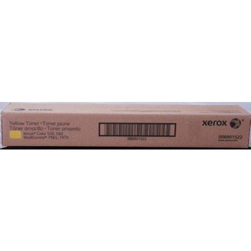 Xerox 006R01522, Toner Cartridge Yellow, Color 550, 560- Original
