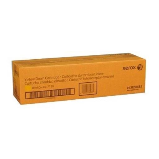 Xerox 013R00658, Drum Cartridge Yellow, WorkCentre 7120, 7125, 7220, 7225- Original
