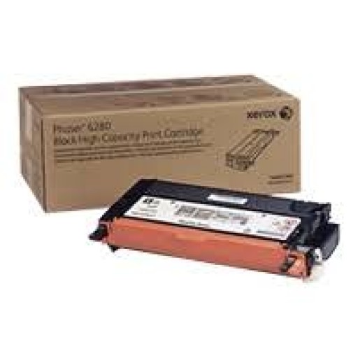 Xerox 106R01407 Metered Toner Cartridge Black, Phaser 6280 - Genuine