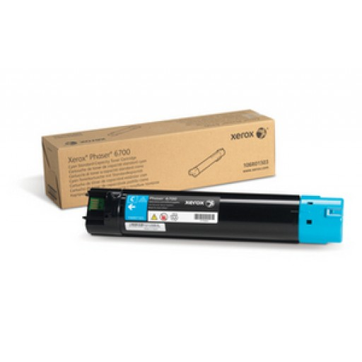 Xerox 106R01503 Toner Cartridge, Phaser 6700 - Cyan Genuine