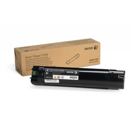 Xerox 106R01506 Toner Cartridge, Phaser 6700 - Black Genuine