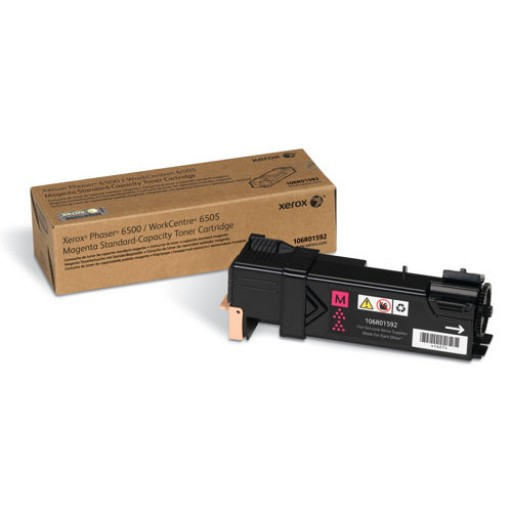 Xerox 106R01592, Toner Cartridge Magenta, Phaser 6500, WorkCentre 6505- Original
