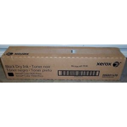 Xerox 006R01470, Dry Ink Toner- Black, 800, 1000 Colour Press- Original