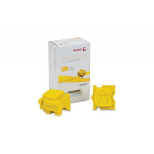 Xerox 108R00997, Solid Ink Sticks- 2 x Yellow, ColorQube 8700- Original