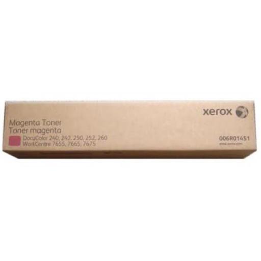Xerox 006R01451, Toner Cartridge Twin Pack Magenta, WorkCentre 7655, 7665, 7675- Original