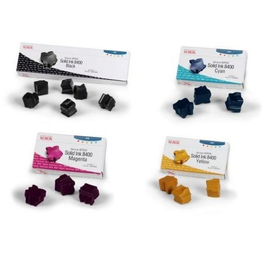 Xerox Phaser 8400 Solid Ink Sticks - Value Pack Genuine