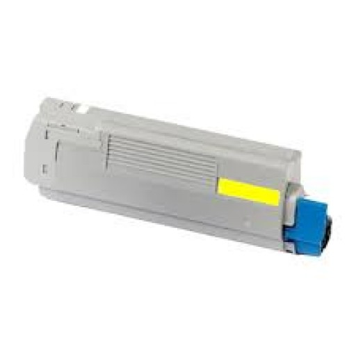 OKI 44059257 Toner Cartridge Yellow, OKI ES8451, ES8461- Genuine