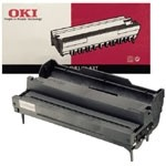 Oki 10e, 10i, 10ex, 12i, 12i, 14i Image Drum Unit - Black Genuine (40433303)