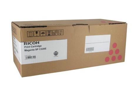 Ricoh 406054, Toner Cartridge Magenta, SP C220, SP C221, SP C222, SP C240- Original