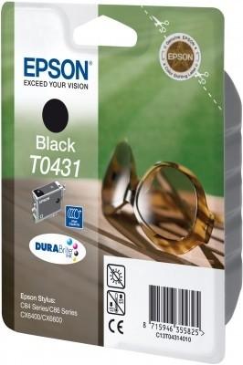 Epson T0431 Ink Cartridge - HC Black Genuine