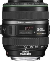 Canon Ef70-300mm f/4.5-5.6 Do Is Usm Lens