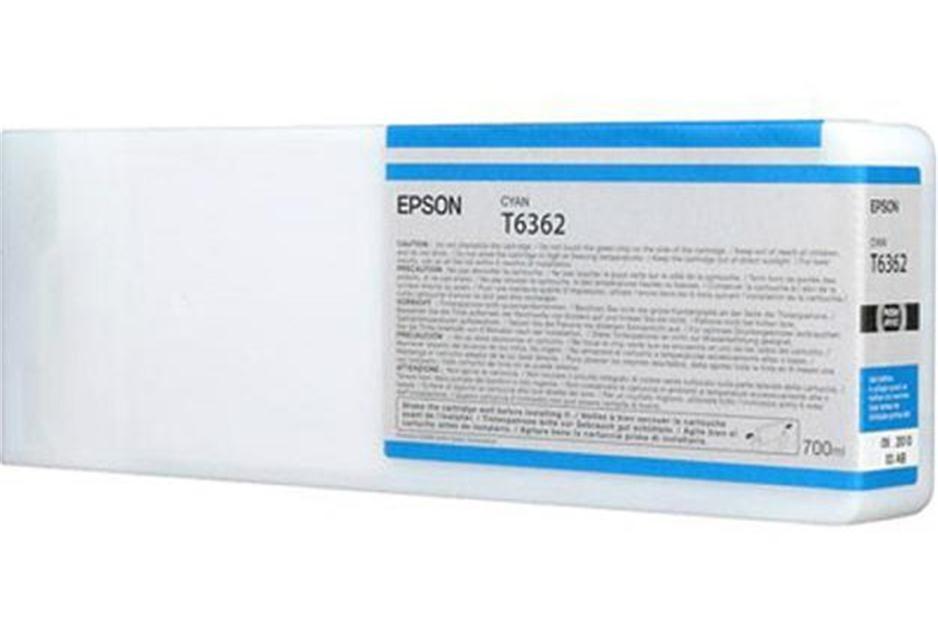 Epson C13T636200, T6362 Ink Cartridge, Stylus Pro 7700, 7890, 7900, 9700, 9890, 9900- HC Cyan Genuine