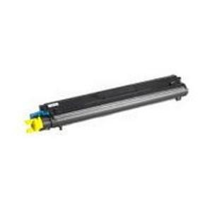Konica Minolta 1710530-002 Toner Cartridge Yellow QMS, Magicolor 7300 -  Genuine