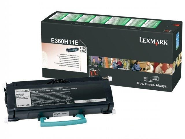 Lexmark 0E360H11E, Toner Cartridge- HC Black, E260, E360, E460- Original