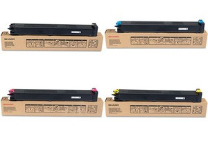 Sharp MX-23GT Toner Cartridge Value Pack, MX 2310 - 4 Colour Genuine