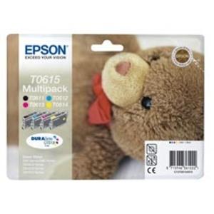 Epson T0615 Ink Cartridge - 4 Colour Multipack Genuine