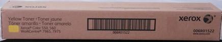 Xerox 006R01522, Toner Cartridge Yellow, Color 550, 560- Original