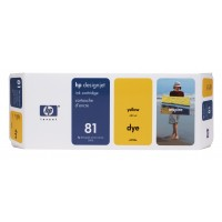 HP C4933A No.81 Ink Cartridge - Yellow Genuine