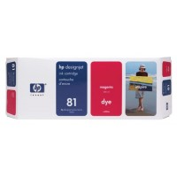 HP C4932A No.81 Ink Cartridge - Magenta Genuine