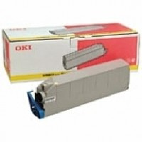 Oki 41963605, Toner Cartridge Yellow, C9300, C9500- Original