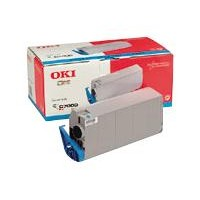 Oki 41963007 Toner cartridge Cyan, C7100, C7300, C7350, C7500- Genuine