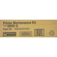 Ricoh 400549 Maintenance Kit Fuser Oil Type 3800 G, AP3800 - Genuine