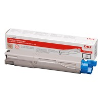 Oki 43459324, Toner cartridge Black, C3520, C3530, MC350, MC360- Original