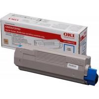 Oki 43865723, Toner Cartridge- Cyan, C5850, C5950, MC560- Original