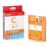 Canon E-C25L Photo Pack For Selphy ES1 Printer