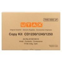 UTAX 613010010, Toner Cartridge- Black, CD1230, CD1240, CD1250- Genuine