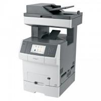 Lexmark X748dte, Multifunction Color Laser Printer
