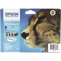 Epson T0715 Ink Cartridge - 4 Colour Multipack Genuine