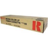 Ricoh 888115 Toner Cartridge Black, Type 110, CL5000 - Genuine
