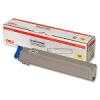 Oki 42918913 Toner Cartridge Yellow, C9600, C9650, C9800, C9850- Genuine