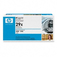 HP C4129X, Toner Cartridge Black, 5000, 5100- Original
