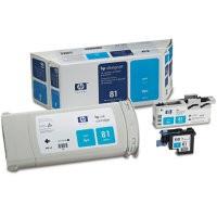 HP C4991A No.81 Cyan Printhead & Ink Cartridge Multipack Genuine