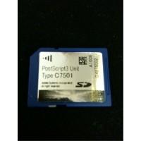 Ricoh PostScript Unit Type C7501 PS3 Card, C6501, MP C7501