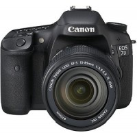 Canon EOS 7D Digital SLR Camera with 15-85mm lens