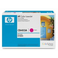 HP CP4005 Toner Cartridge - Magenta Genuine (CB403A)