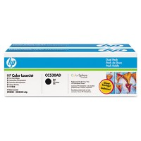 HP CC530AD, Toner Cartridge- Black Multipack, CM2320, CP2020, CP2025- Genuine
