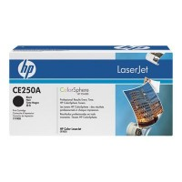 HP CE250A, Toner Cartridge- Black, CM3530, CP3520, CP3525- Genuine