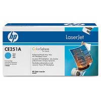 HP CE251A, Toner Cartridge Cyan, CP3525, CM3530, CP3520- Original