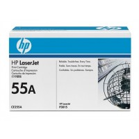 HP CE255A, P3015 Toner Cartridge Black- Genuine