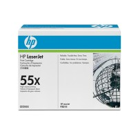 HP CE255X, P3015 Toner Cartridge HC Black - Genuine