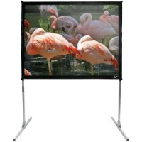 Elite Q120V-SILVER Quickstand Portable Projection Screen