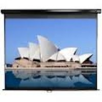 Euroscreen  MD4030-V  XL Diplomat Large Electric Projection Screen